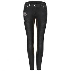 Pantalon d'équitation jeans avec fond Callina Cavallo