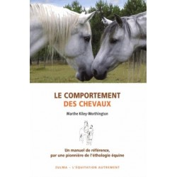 Le comportement des chevaux Marthe Kiley-Worthington Editions Zulma