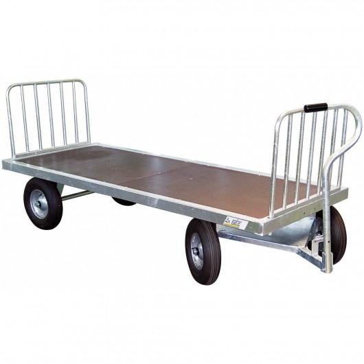 Chariot fourrage 4 roues La Gée