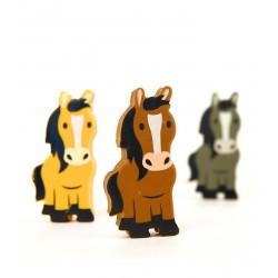 Gomme cheval x 3 Waldhausen