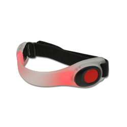Bracelet réflecteur LED rouge Waldhausen