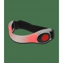Bracelet réflecteur LED rouge Waldhausen