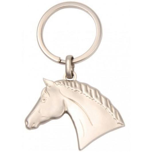 Porte-clés métal brossé Waldhausen