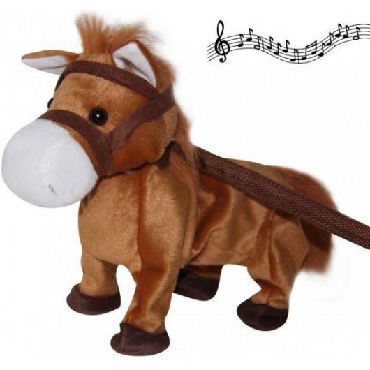 Peluche poney animé musical Elvis Waldhausen