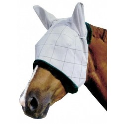 Masque anti-mouches et UV avec oreilles Supermask II Farnam