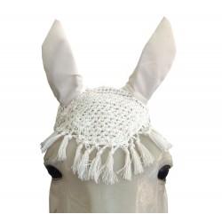 Bonnet anti-mouches crochet