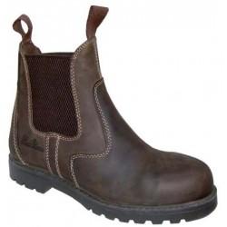 Boots de sécurité équitation nubuck huilé Stable Cavalhorse