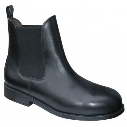 Boots de sécurité équitation cuir Junior Rider Cavalhorse