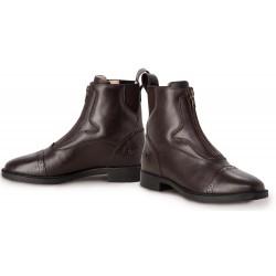Boots équitation cuir zip avant Giotto Tredstep
