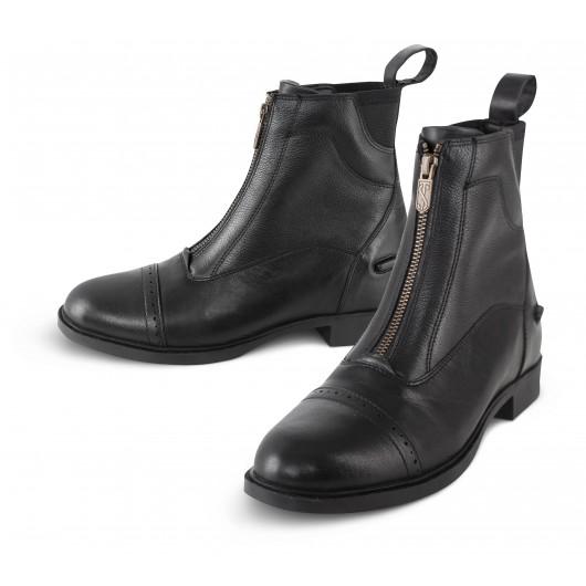 Boots équitation cuir zip avant Giotto II