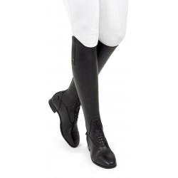 Bottes équitation cuir à lacets noir taille normale Donatello SQ Field Tredstep