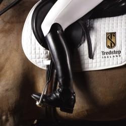 Bottes d'équitation cuir demi-mesure à lacets Taille haute Michelangelo Field Tredstep
