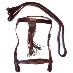 Bridon espagnol cuir Cavalhorse