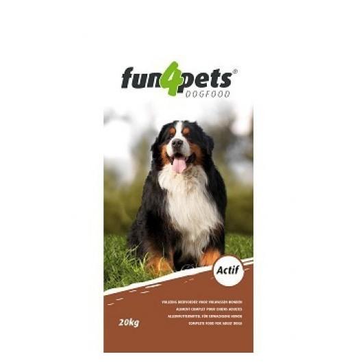 Aliment chien sac 20 kg Actif Fun4Pet