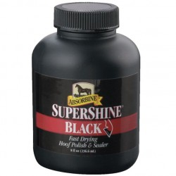 Vernis sabot noir Supershine Absorbine