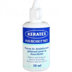 Désinfectant pour fourchette 50 ml Fourchet Net Keratex