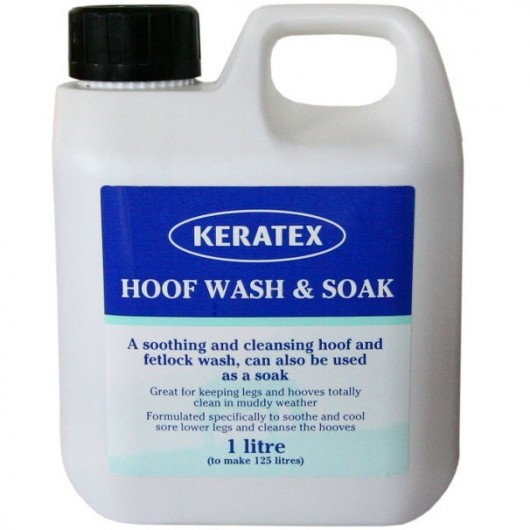 Bain de pied cheval 1 L Hoof Wash Keratex