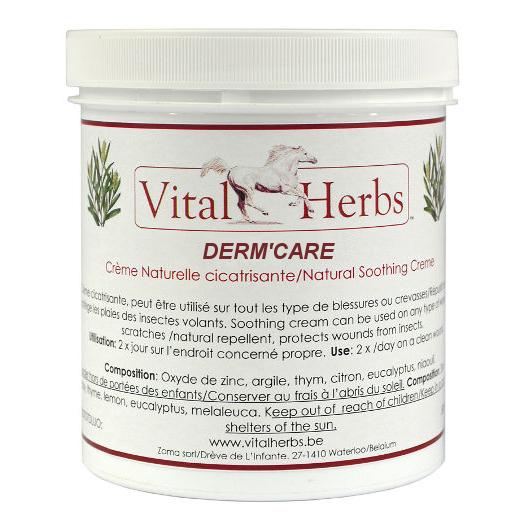 Crème pour la peau 500 ml Derm Care cheval Vital Herbs