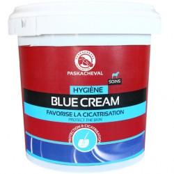 Crème hygiène de la peau cheval 1 L Blue Cream Paskacheval