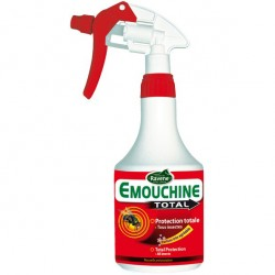 Spray anti-insectes cheval 500 ml Emouchine Total Ravene