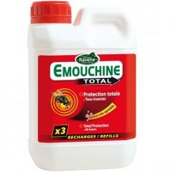 Recharge spray anti-insectes 1.5 L Emouchine Total Ravene