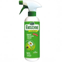 Répulsif anti-insectes 500 ml Emouchine Vert Ravene