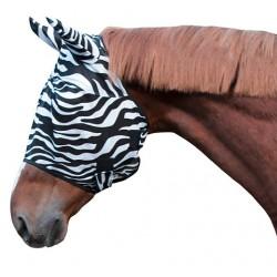 Masque anti-mouches Zebra Covalliero