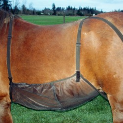 Protection ventrale anti-mouches cheval Quiet Ride Cashel