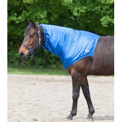 Couvre-cou cheval protection anti-dermite Waldhausen