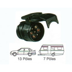 Adaptateur compact 12 volts 13/7