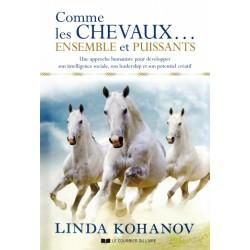 Comme les chevaux... Ensemble et puissants Linda Kohanov Éditions Le Courrier du Livre