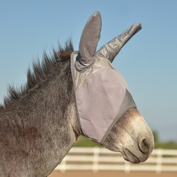 Masque anti-mouches âne avec oreilles Crusader Fly Mask Cashel