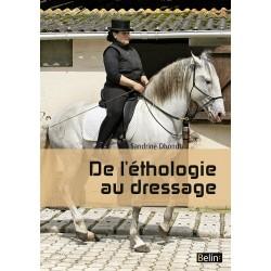 De l'éthologie au dressage Sandrine Dhondt Éditions Belin