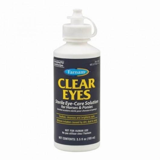 Nettoyant ophtalmique cheval 103 ml Clear Eyes Farnam