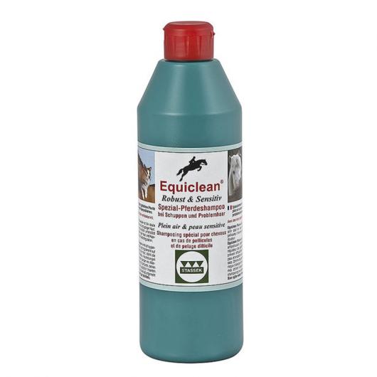 Shampoing cheval pellicules et peau sensible 500 ml Equiclean Stassek