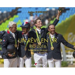 Un rêve en or, Rio 2016 Jessica Rodrigues Éditions Lavauzelle