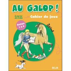 Au galop ! spécial soins Marine Oussedik Éditions Belin