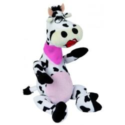 Peluche vache pour chien Olga