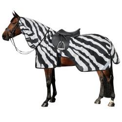 Couvre-reins anti-mouches Buzz-off Zebra Bucas