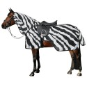 Couvre-reins anti-mouches cheval Buzz-off Zebra Bucas