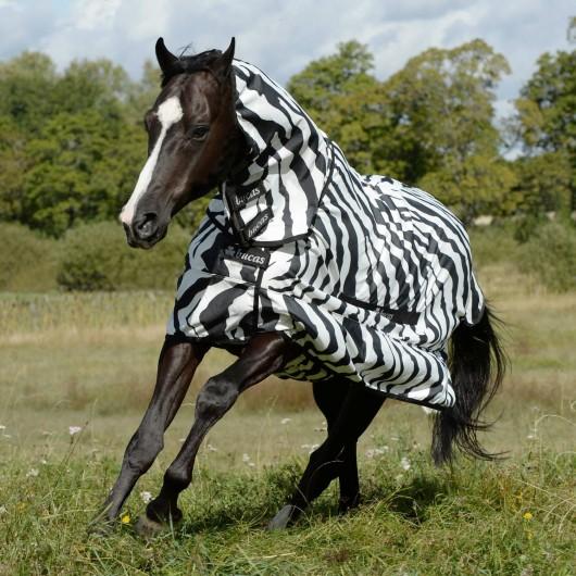 Chemise anti-dermite cheval Sweet Itch Zebra Bucas