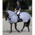 Couvre-reins anti-mouches anti-UV cheval Buzz-off Riding Bucas