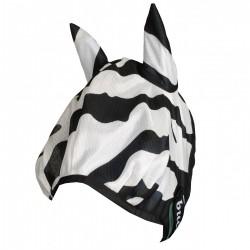 Masque anti-mouches et UV Buzz-off zebra Bucas