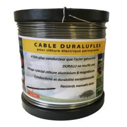 Fil alliage aluminium 1,80 mm x 400 m Duraluflex Le Gardien Electrique