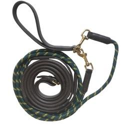 Rênes allemandes cuir caoutchouc corde Cavalhorse