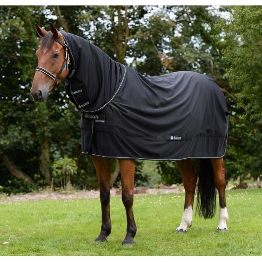 Chemise de transport séchante cheval avec couvre-cou Shamrock Power Bucas
