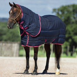Couverture écurie cheval 250 g avec couvre-cou Amigo Stable Vari-Layer Plus Horseware