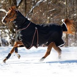 Couverture extérieur cheval 400 g avec couvre-cou et liner Rambo Optimo Turnout Horseware