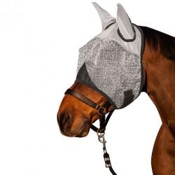 Masque anti-mouches avec oreilles anti-UV Covalliero