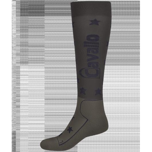 Chaussettes équitation fines hautes Star Cavallo